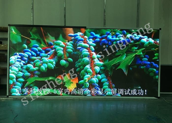 Customized Indoor LED Advertising Screen P2.5 Full Color Low Power Consumption